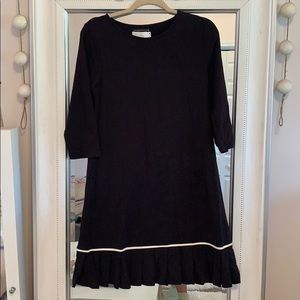 Dresses & Skirts - 3/4 Sleeve Pleated Dress - NWT- Small